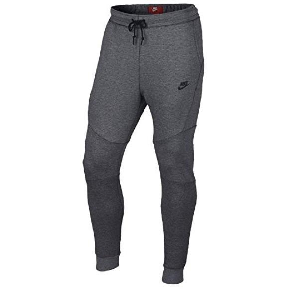 Nike Tech Fleece Jogger Pants Sweatpants Carbon Grey Black 805162-091 Mens S-XXL